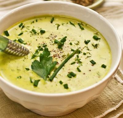 Суп из плавленных сырков: это очень вкусно! Очень быстро готовить!