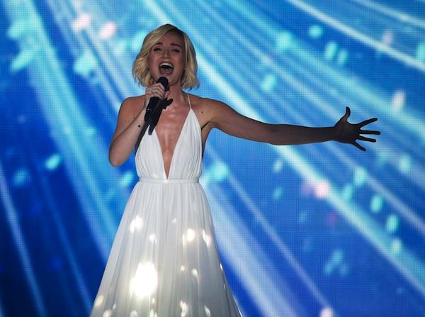 Пожелаем Полине успеха на Евровидении-2015