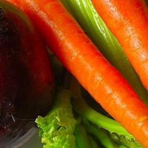 Овощной разгрузочный день: морковь и свекла