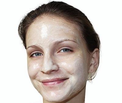 Маска для подтяжки овала лица