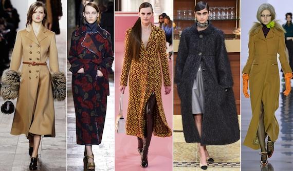 Пальто в пол модно в сезоне зима-2016