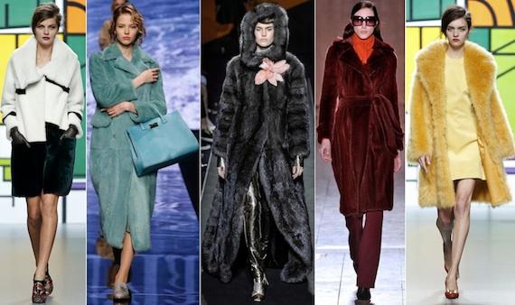 Модные шубы сезона зима-2016