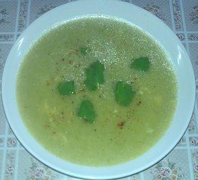 Крем-суп из цукини или молодых кабачков