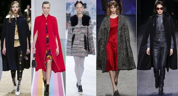 Пальто-кейп модно