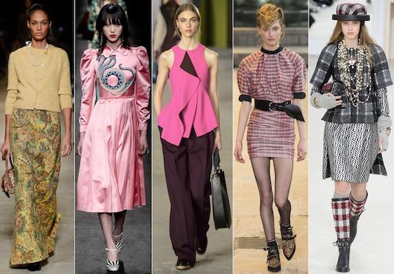 Модные жёлтый, розовый и пледовая расцветка
