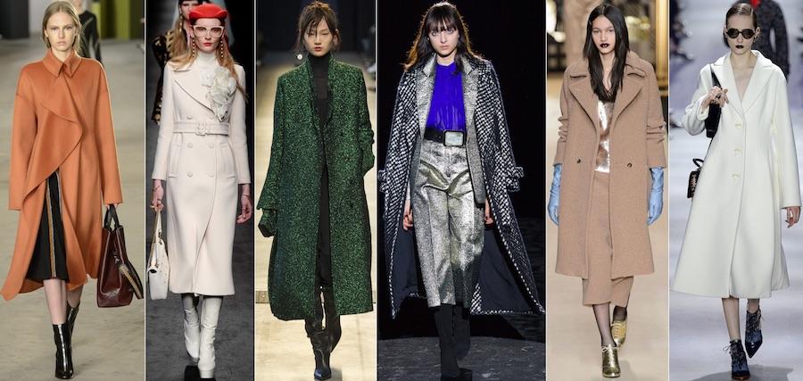 Модные тренды пальто в этом сезоне