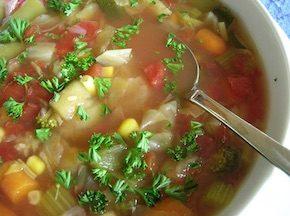 7-дневная диета на овощном супе