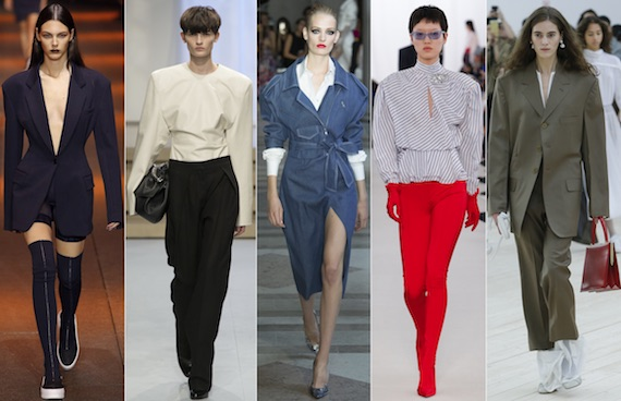 Вот и пришла мода на одежду с большими плечами