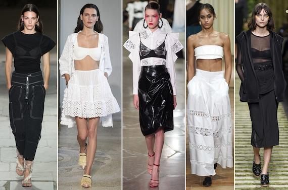 Бра поверх одежды - так сейчас модно