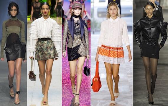 Мини-юбки в моде