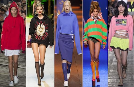 Модные в 2017 свитшоты