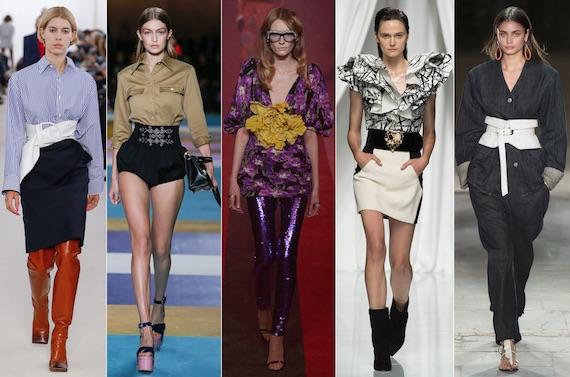 модно в 2017: акцент на талии