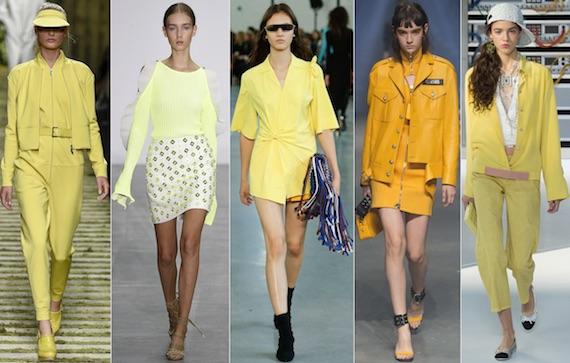 Модные расцветки и материалы лета 2017