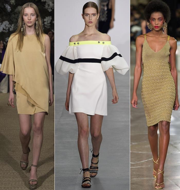 Платье на выпускной: супер-модный жёлтый