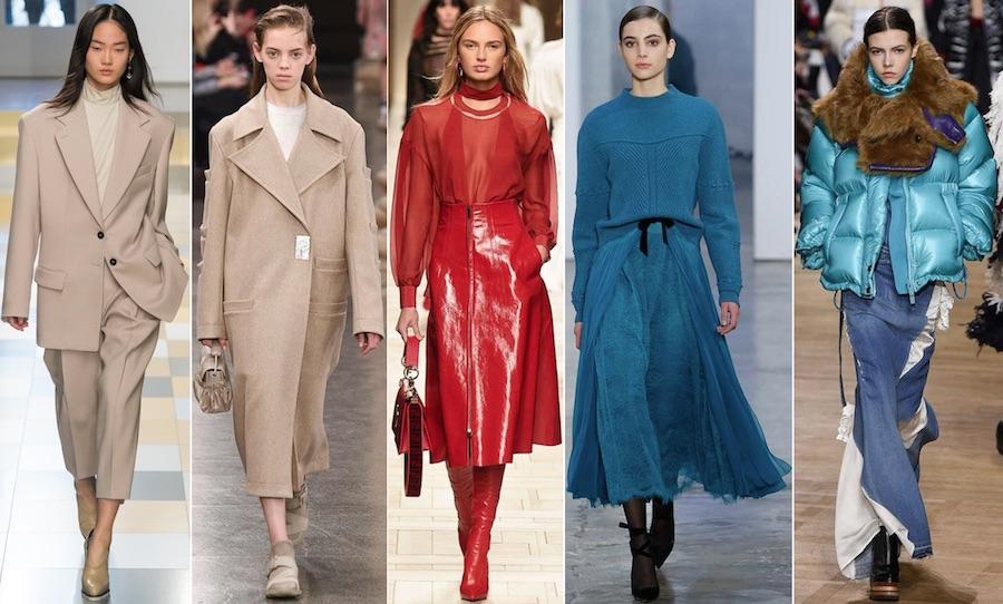 Модные цвета 2018