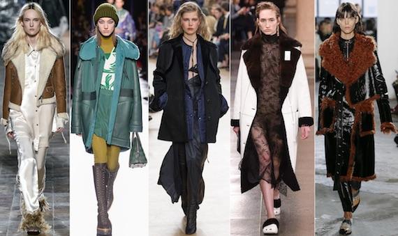 Модные дублёнки зимы 2018
