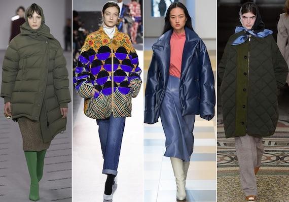 Модные пуховики зимы 2018