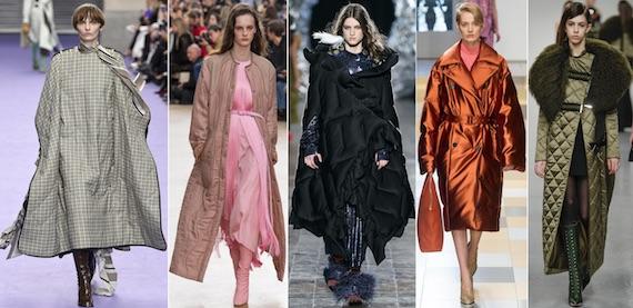 Модное стёганое пальто 2018