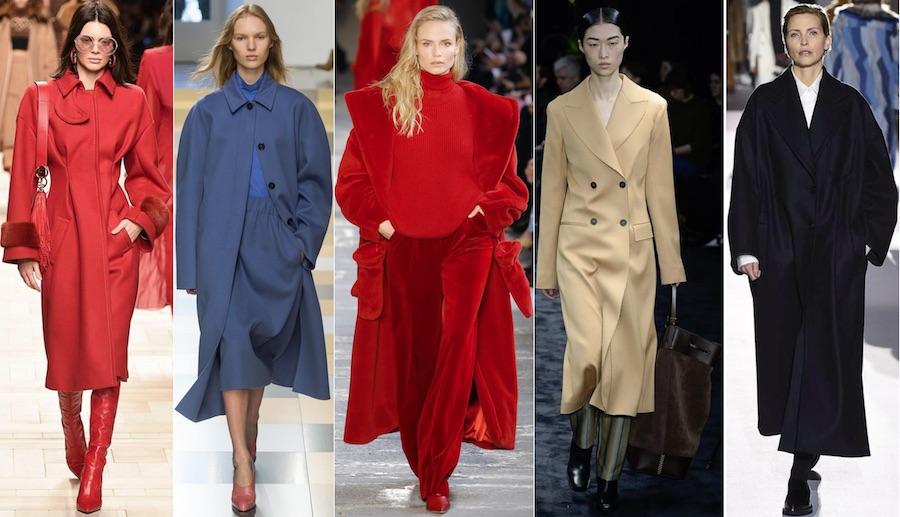 Модное пальто 2018