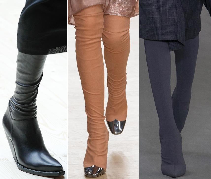 Модно в 2018: сапоги-чулки